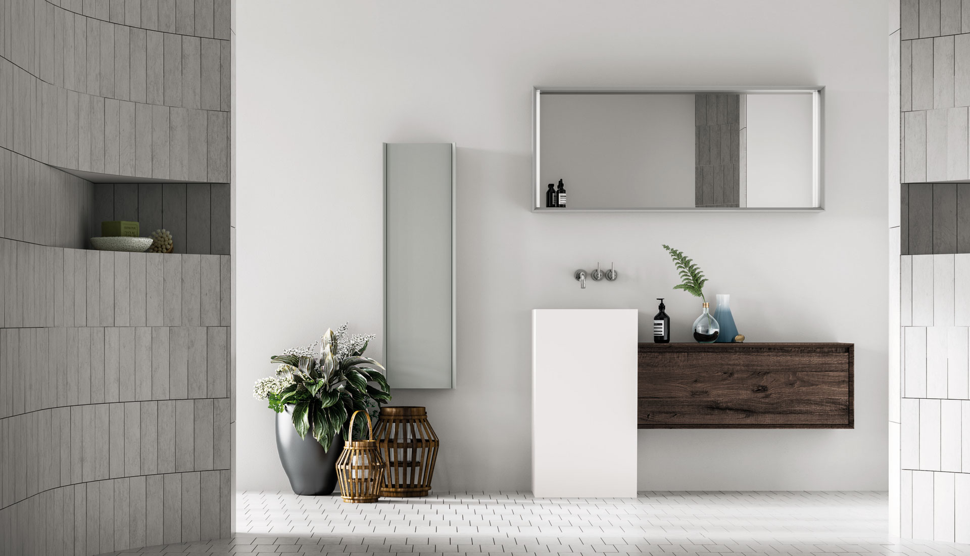 Puntotre bathrooms furniture and bath furnishing ideas