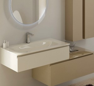glass, the noble material for the modern bathroom - puntotre ... - Arredo Bagno Puntotre