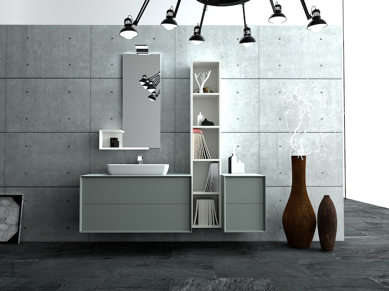 Modula 2.0, the bathroom of the future, soon available - Puntotre ...