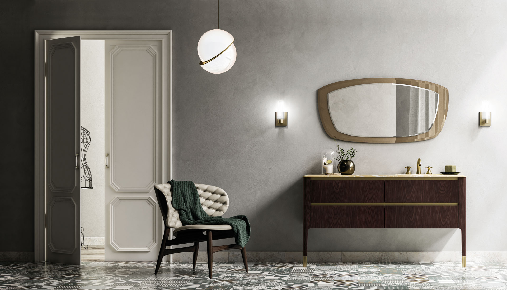 the art of bathroom - puntotre arredobagno - Arredo Bagno Luxury