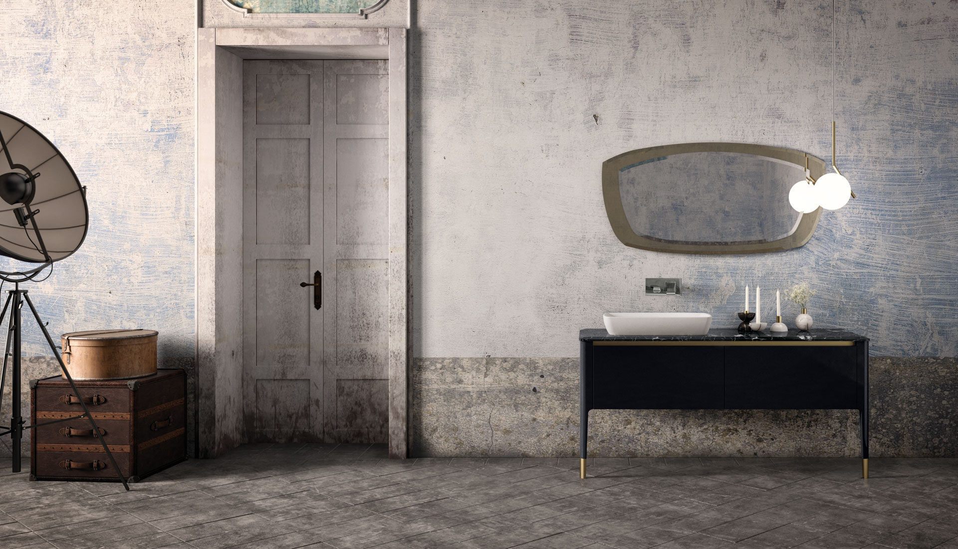 puntotre bathrooms furniture and bath furnishing ideas - Arredo Bagno Italia