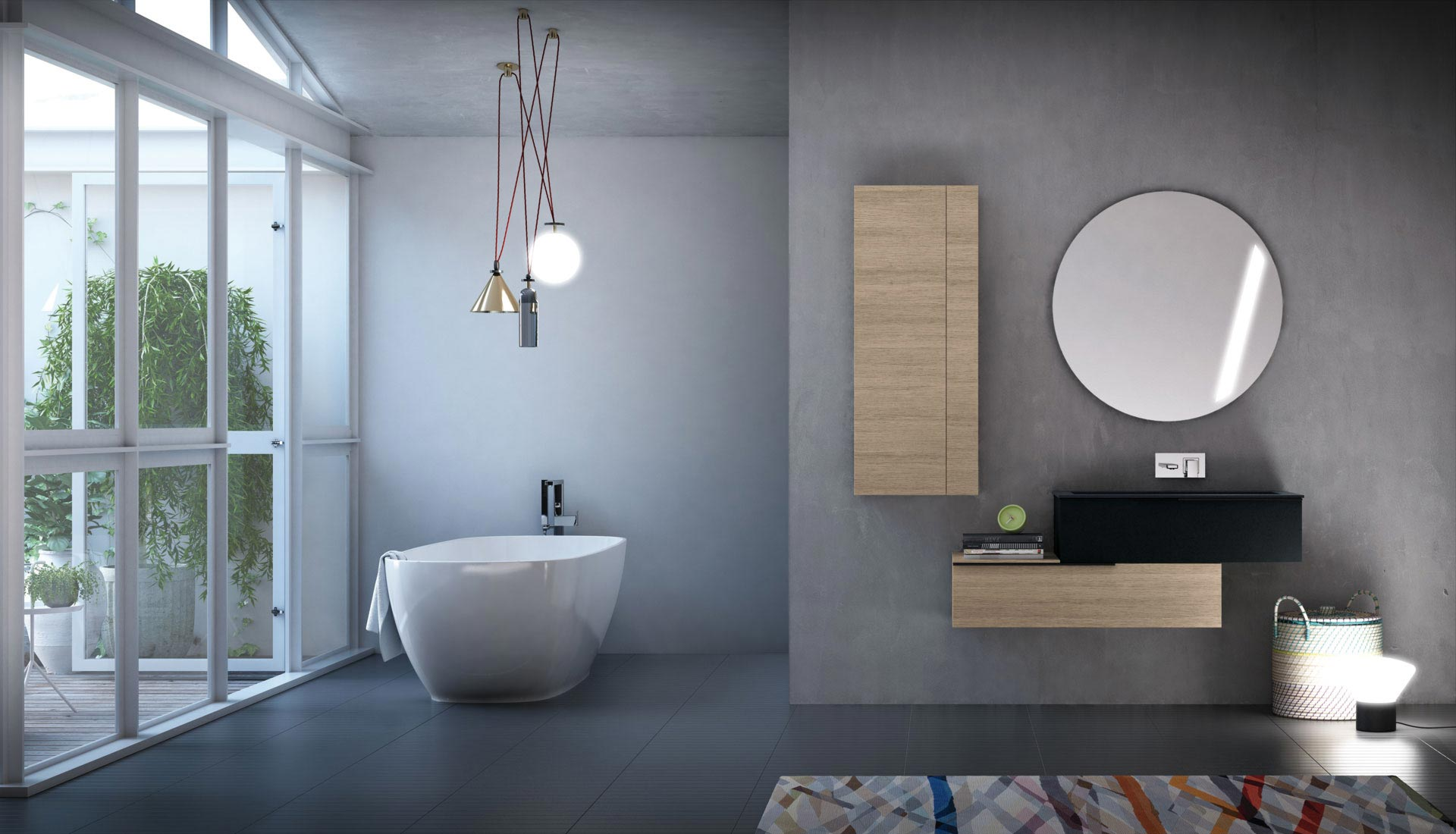 puntotre bathrooms furniture and bath furnishing ideas - Casa Arredo Bagno